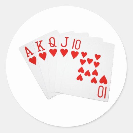 Poker 4 aces vs royal flush