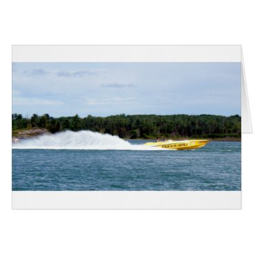 Beach Themed Poker Runs America jet boat Card