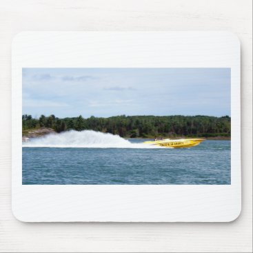 Beach Themed Poker Runs America jet boat Mouse Pad