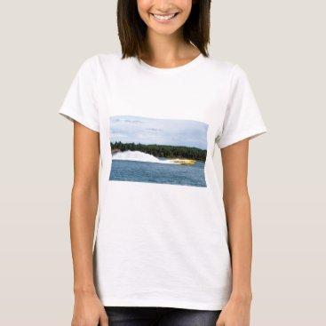 Beach Themed Poker Runs America jet boat T-Shirt