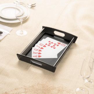 Poker Serving Tray
