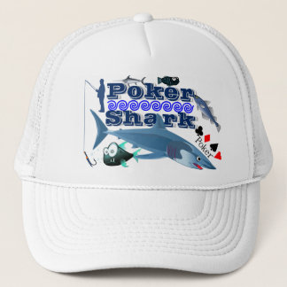 Poker Shark Trucker Hat