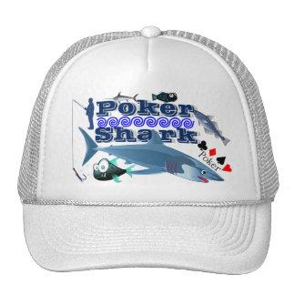 Poker Shark Trucker Hat