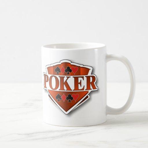 Poker Shield Coffee Mug