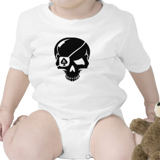 Poker skull ace bodysuits