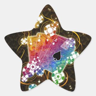 Poker Stars Star Sticker