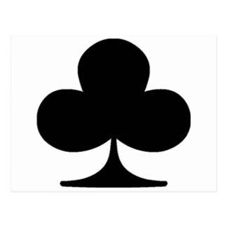 Poker Suite Club Postcard
