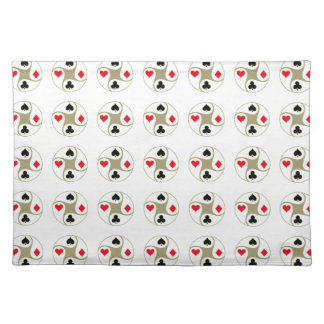 Poker Suits Cloth Placemat