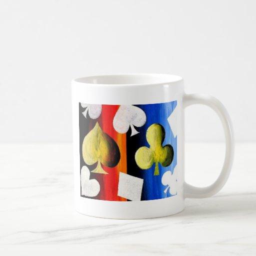Poker Suits Designer Coffee Mug Zazzle