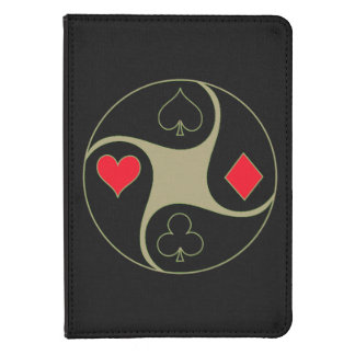 Poker Suits Kindle Cover