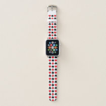 Poker Suits Pattern Apple Watch Band