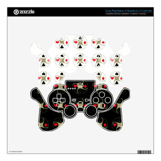 Poker Suits PS3 Controller Skin