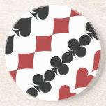 Poker Symbols Coasters