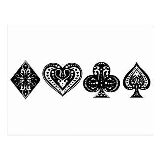 Póker Tarjetas Postales