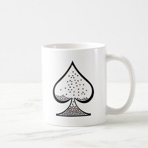 poker taza clásica