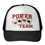 Poker Team Hat