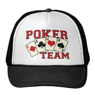Poker Team Hat