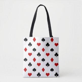 Poker Theme   Playing Card Theme Tote Bag