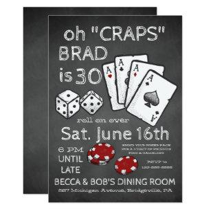 Casino Invitations Zazzle
