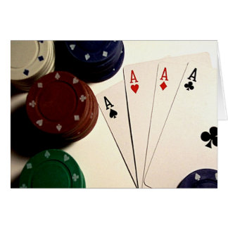 Poker Time Card