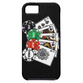 Póker v1 iPhone 5 funda