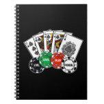Poker v1 spiral note book
