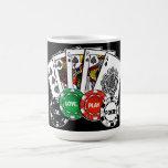 Póker v1 tazas de café
