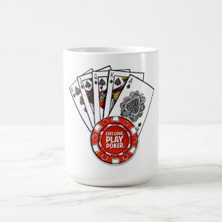 Poker v2 coffee mug