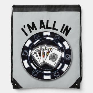 Poker v3 drawstring bag