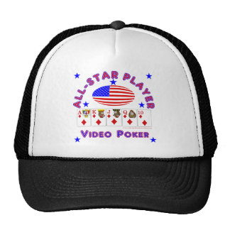 Póker video: todo el jugador de la estrella gorra