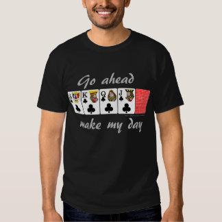 Póker video: Vaya a continuación hacen mi día Playeras
