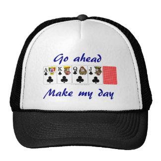 Póker video: vaya a continuación hacen mi gorros bordados