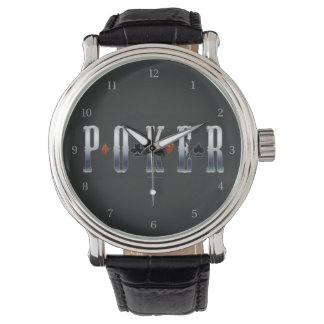 Poker Wristwatch
