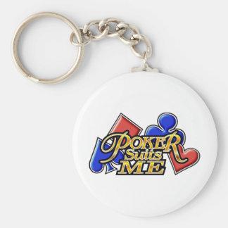 pokerSuitsMe-G Keychain