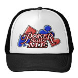 pokerSuitsMe-W Gorro