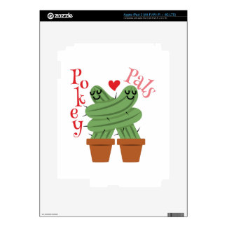Pokey Pals Skins For iPad 3