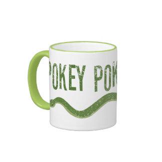 """""""Pokey Pokey Poke"""" Ringer Coffee Mug"""