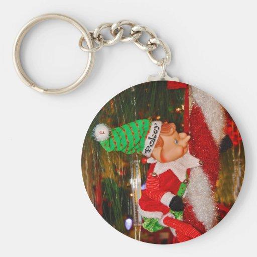 Pokey The Christmas Elf Keychain