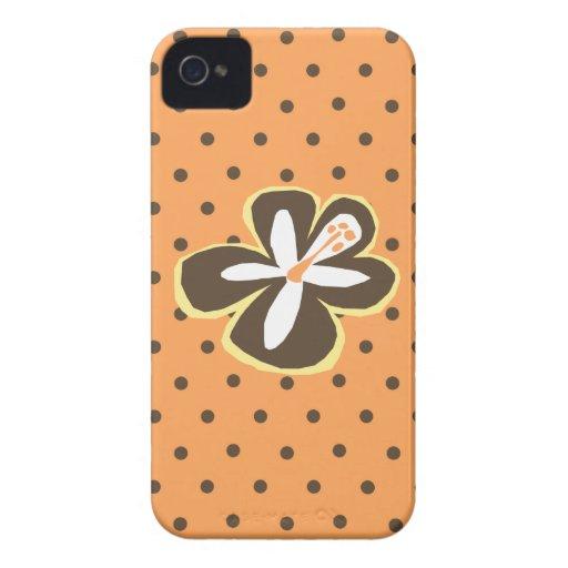 Pokii Flower Polka Dot Hawaiian iPhone 4 Casemate iPhone 4 Case