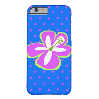Pokii Hawaiian Cut Out Hibiscus Polka Dot Barely There iPhone 6 Case