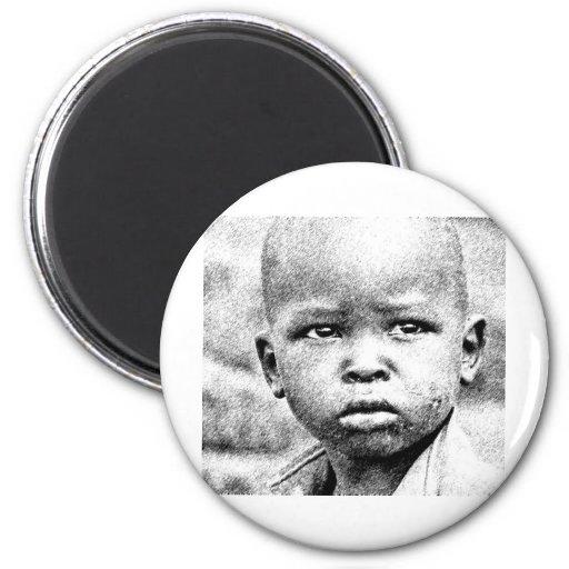 Pokot Kid 2 Inch Round Magnet