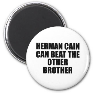 pol-cain BEAT OTHER BROTHER Fridge Magnets