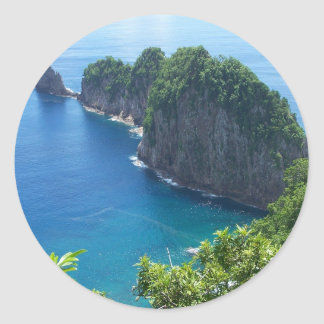 Pola Islands Classic Round Sticker