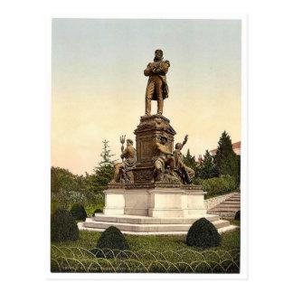 Pola, monumento de Tegetthoff, Istria, Austro-Hung Tarjetas Postales