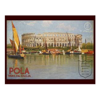 Pola Venezia Giulia Postcard