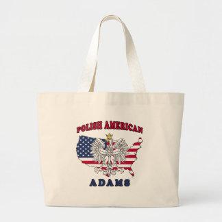 Polaco de Adams Massachusetts Bolsas De Mano