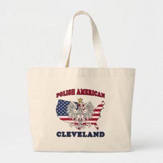 Polaco de Cleveland Ohio Bolsa Tela Grande