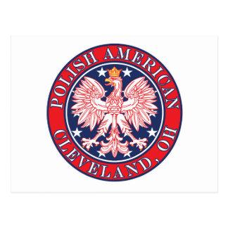 Polaco de Cleveland Ohio Postal