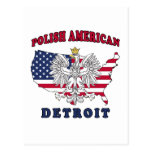 Polaco de Detroit Michigan Postal