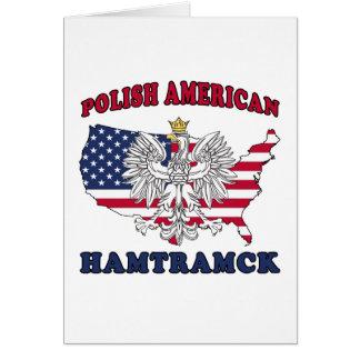 Polaco de Hamtramck Michigan Tarjeta De Felicitación
